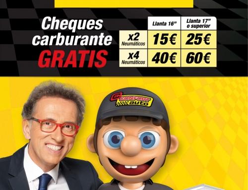 CONFORTAUTO Y JORDI HURTADO REGALAN HASTA 60€ EN COMBUSTIBLE CON PIRELLI