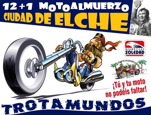 NEUMÁTICOS SOLEDAD PATROCINA EL 12+1 MOTOALMUERZO CIUDAD DE ELCHE