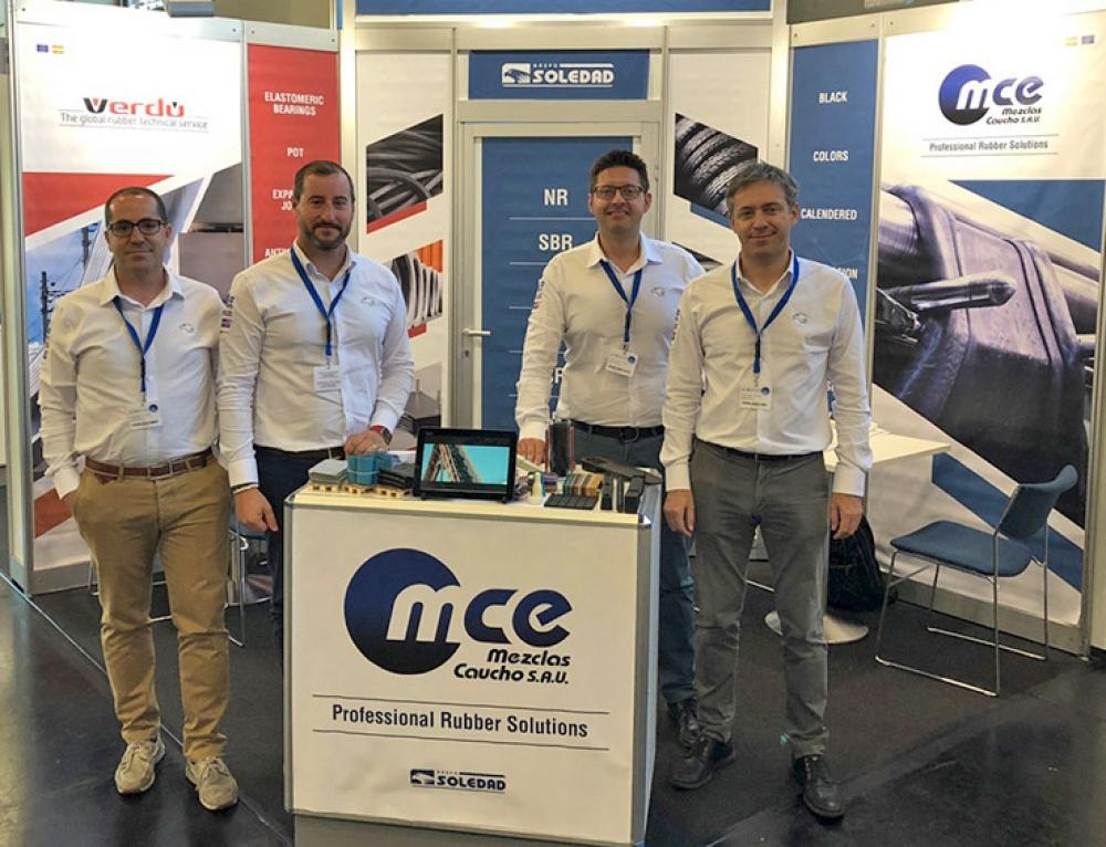 Gran aceptación de MCR Mezclar Caucho en DKT Nuremberg 2018