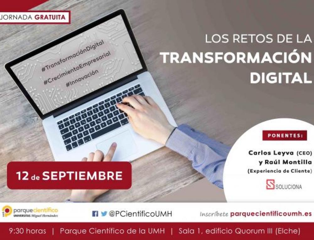 Los retos de la transformación digital, nuevas jornadas de Solucionait
