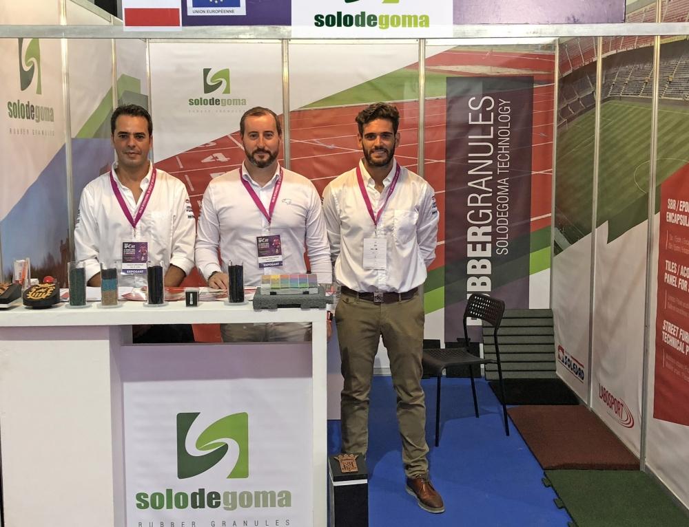 Gran aceptación de Solodegoma en el Salón Internacional du Sport et des Loisirs de Casablanca