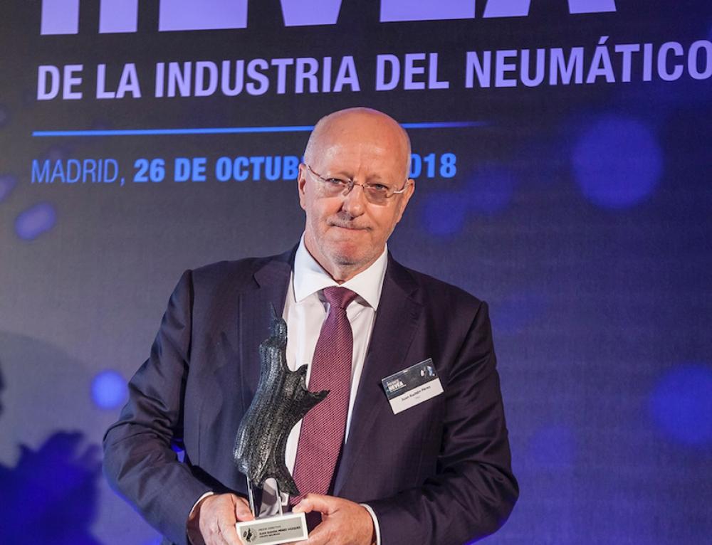 Grupo Soledad premiada con dos galardones de los 'Premios Hevea' de la Industria del Neumático