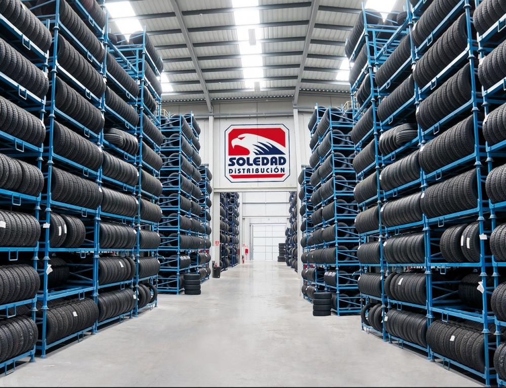 Soledad Distribución se consolida como la mayor distribuidora de neumáticos all season de la Península
