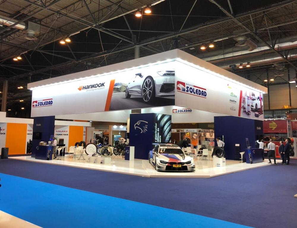 La vuelta de Grupo Soledad a Motortec Automechanika finaliza con un balance muy positivo