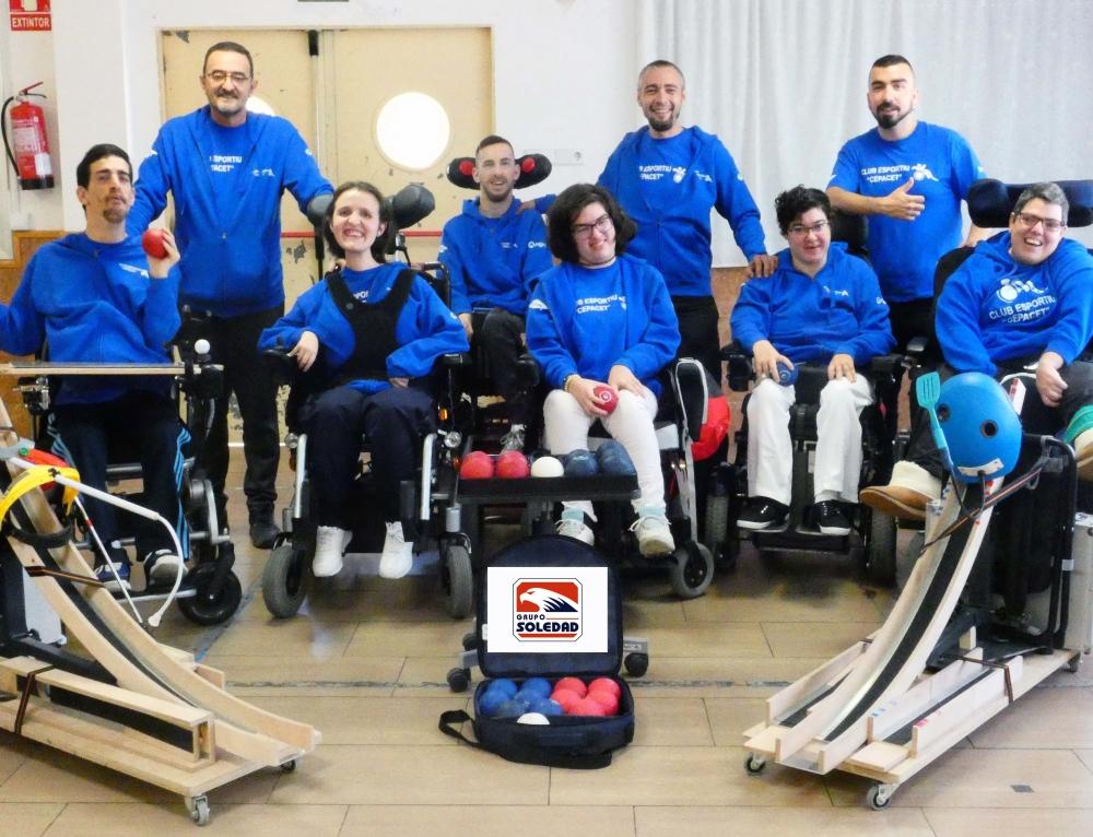 Grupo Soledad, con el deporte adaptado