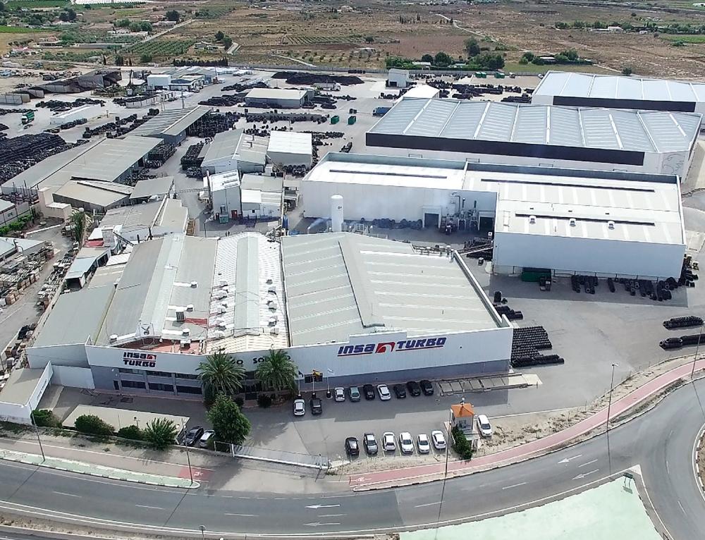 Insa Turbo renueva y recicla el 17% de las 300.000 toneladas de neumáticos fuera de uso en España