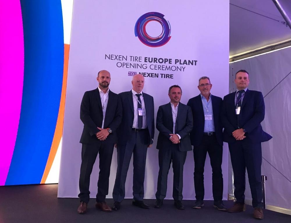 Nexen Tire abre su primera factoría en Europa que distribuirá Grupo Soledad en España