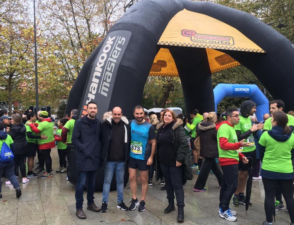 Neumáticos Soledad colabora con la VII Carrera contra el Cáncer de Ferrol