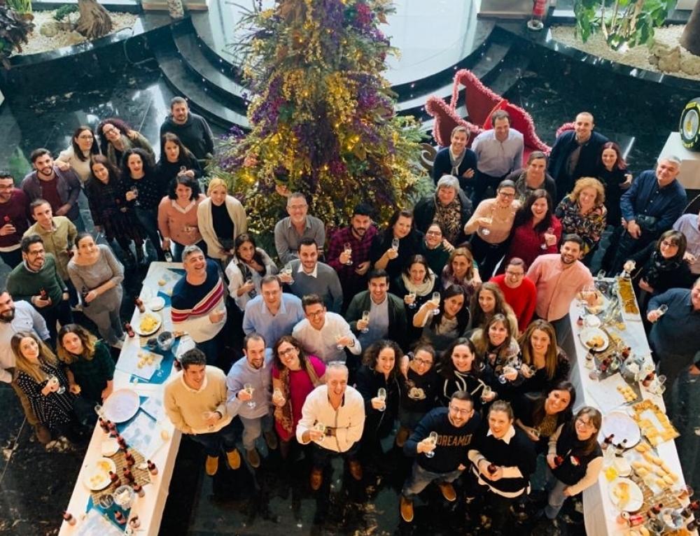 Grupo Soledad celebra la Navidad con sus empleados