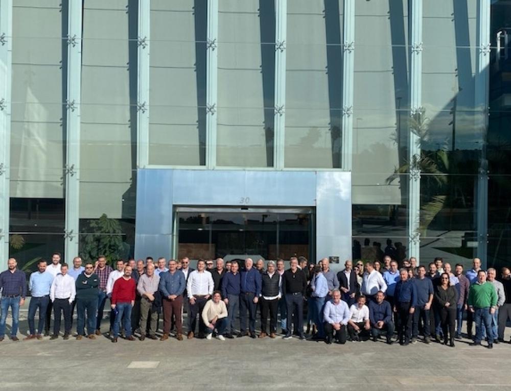 Grupo Soledad reúne a su fuerza de ventas para planificar el 2020