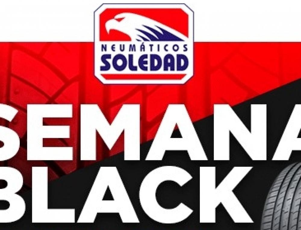 Neumáticos Soledad prepara su 'Semana Black' con ofertas en su B2B